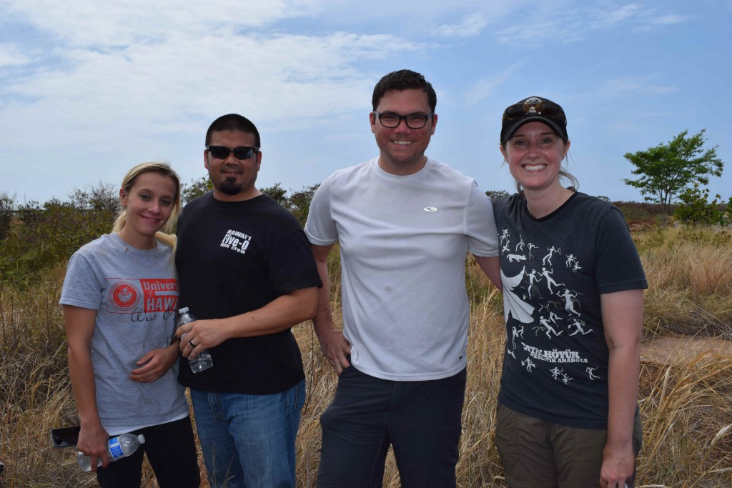 Photo of forensic anthropology students