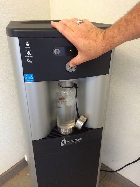 UHWO Green Tracker Water Filling Station