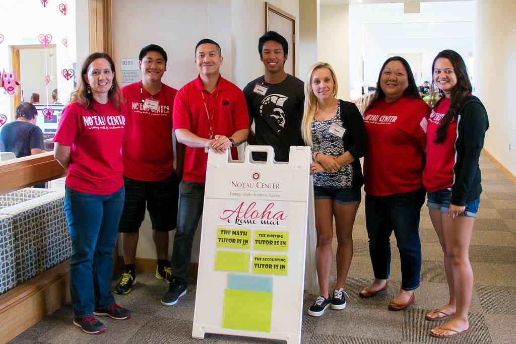 Noʻeau Center staff
