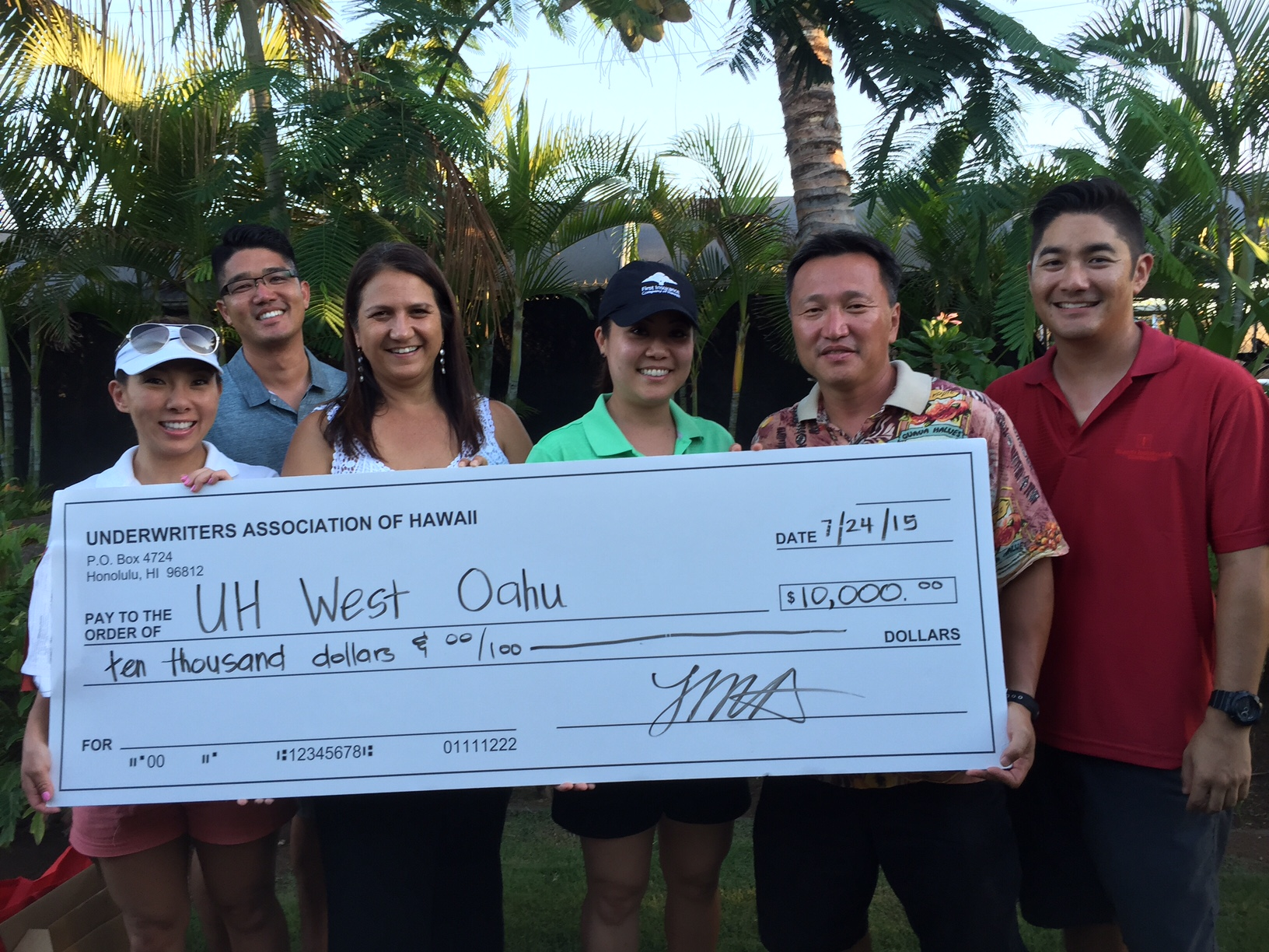 UAH donation 2015