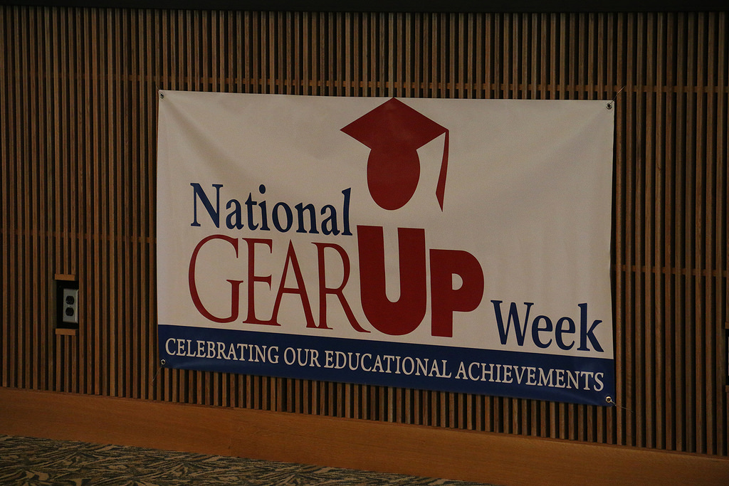 National GEAR UP Week banner