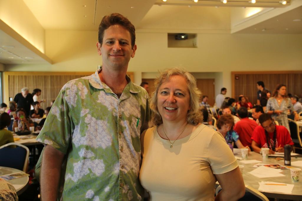 David Kupferman and Brenda Machosky