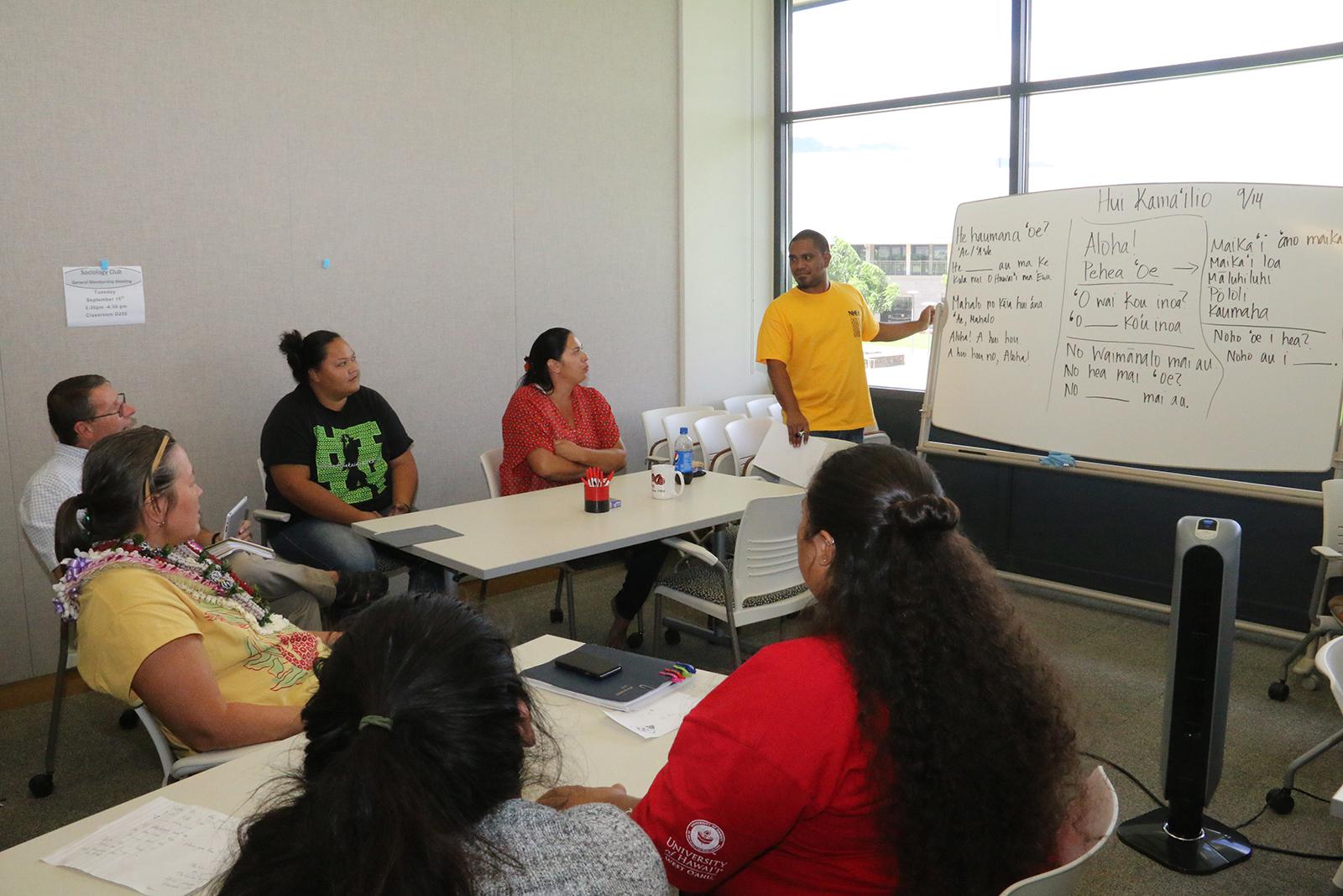 Hui Kama'ilio - Hawaiian Conversational Group