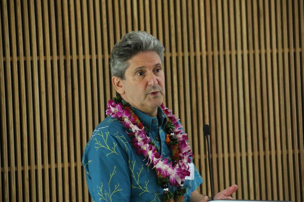 UH System President David Lasser open forum