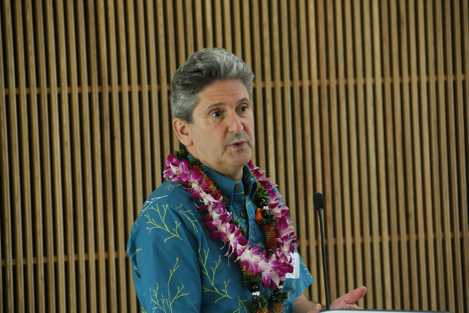 UH System President David Lasser open forum