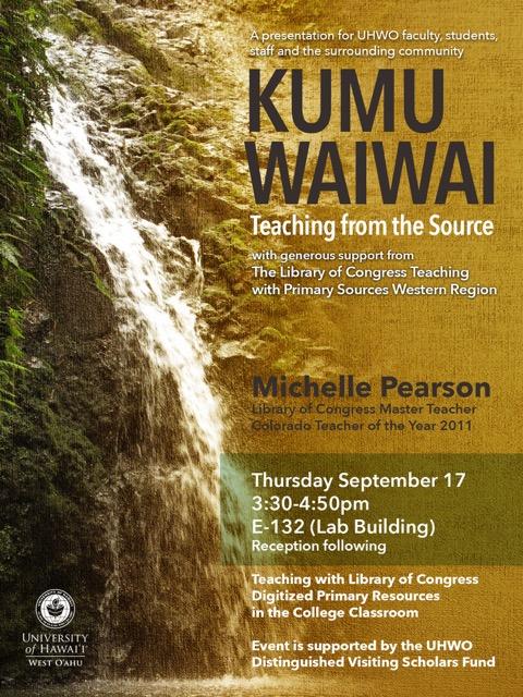 Kumu Waiwai Flyer