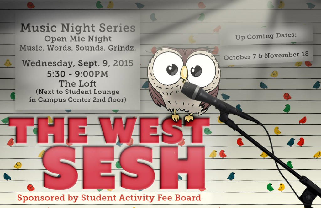 The West Sesh Open Mic Night