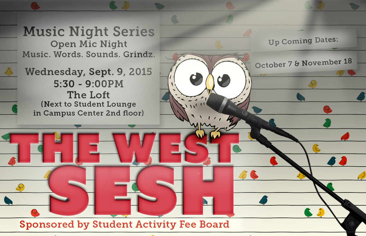 The West Sesh Open Mic Night