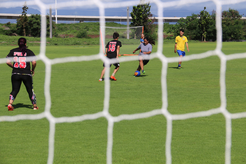 Intramural sports soccer