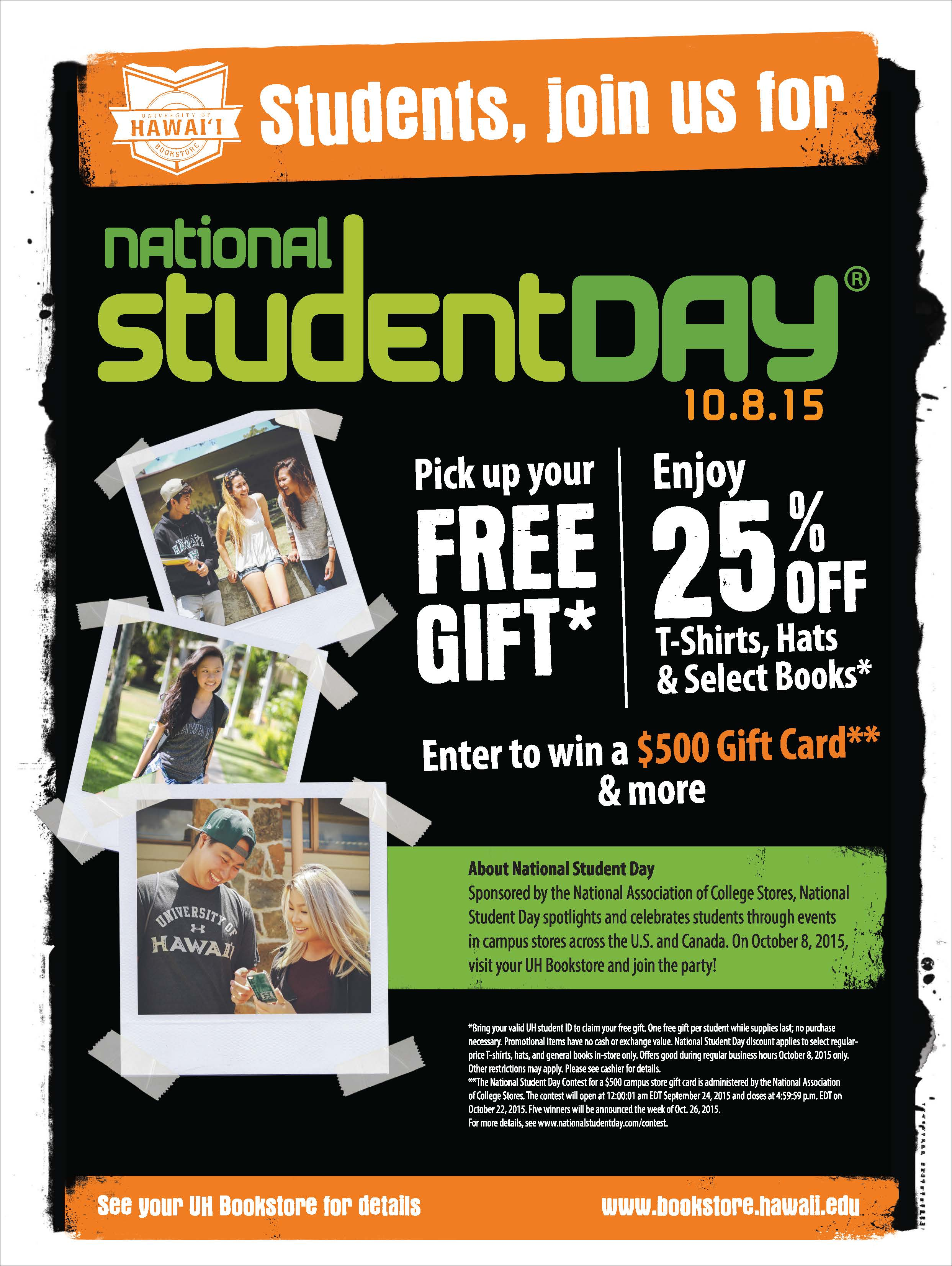 National Student Day Campaign 2015