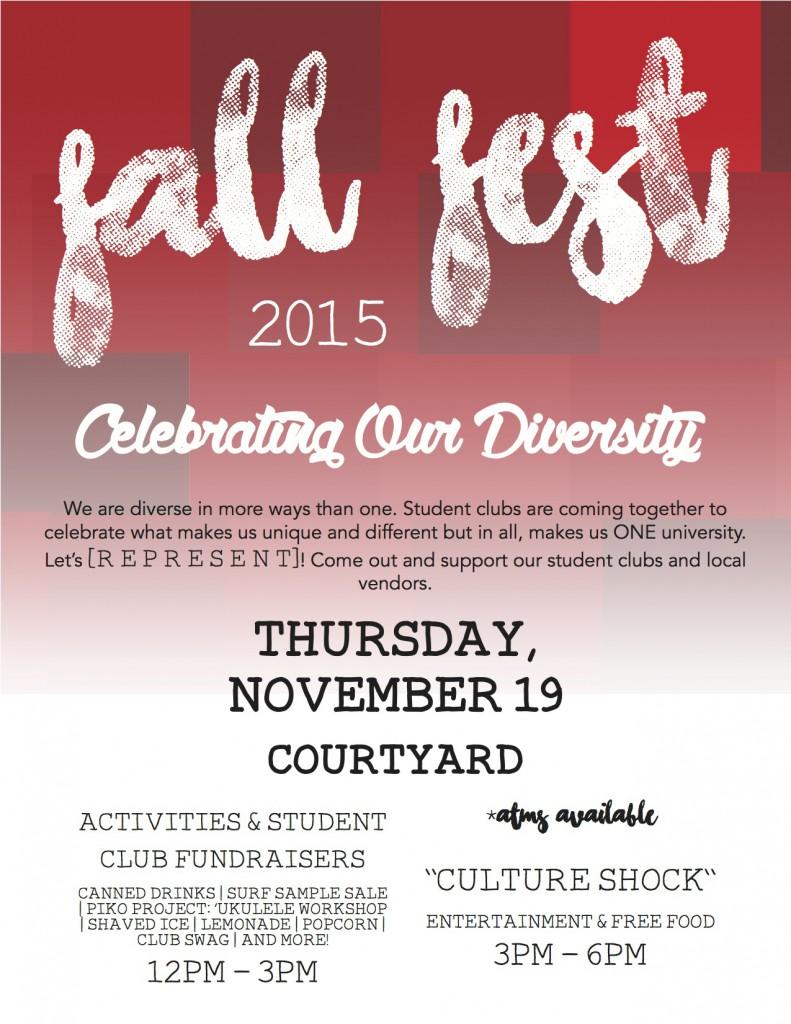 Fall Fest 2015 Flyer