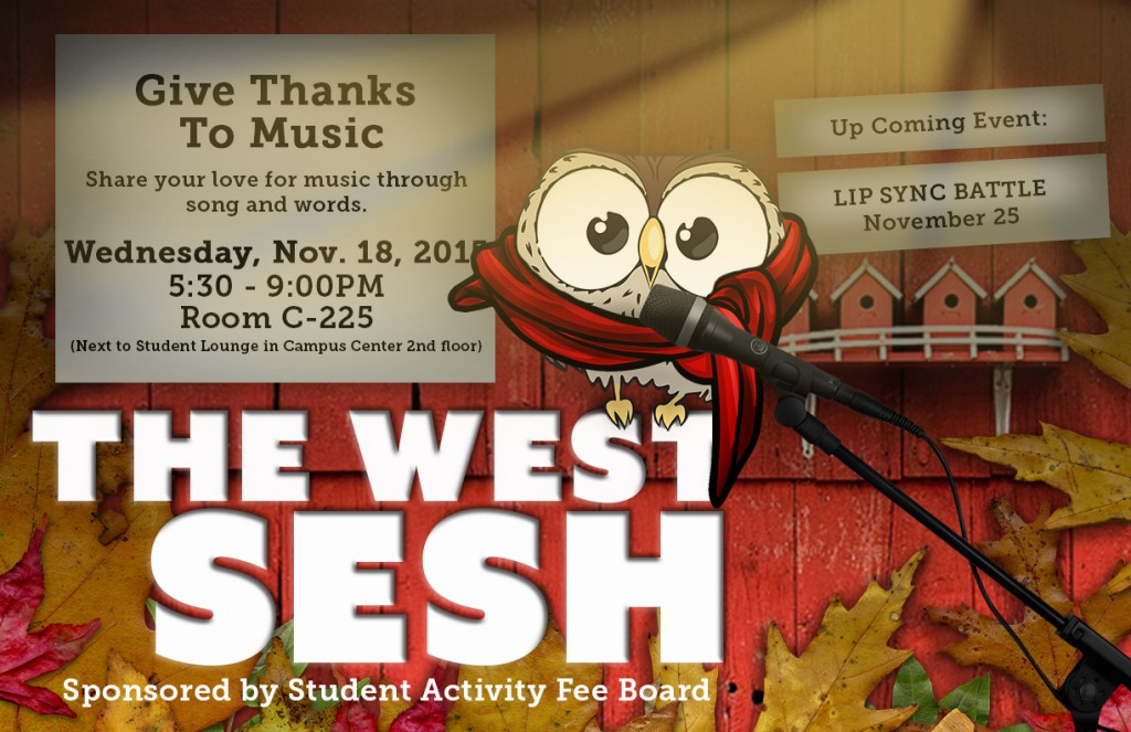 Give thanks to music West Sesh