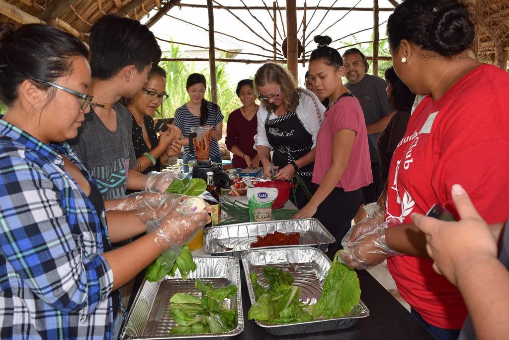 Garden-to-Table kim chi workshop