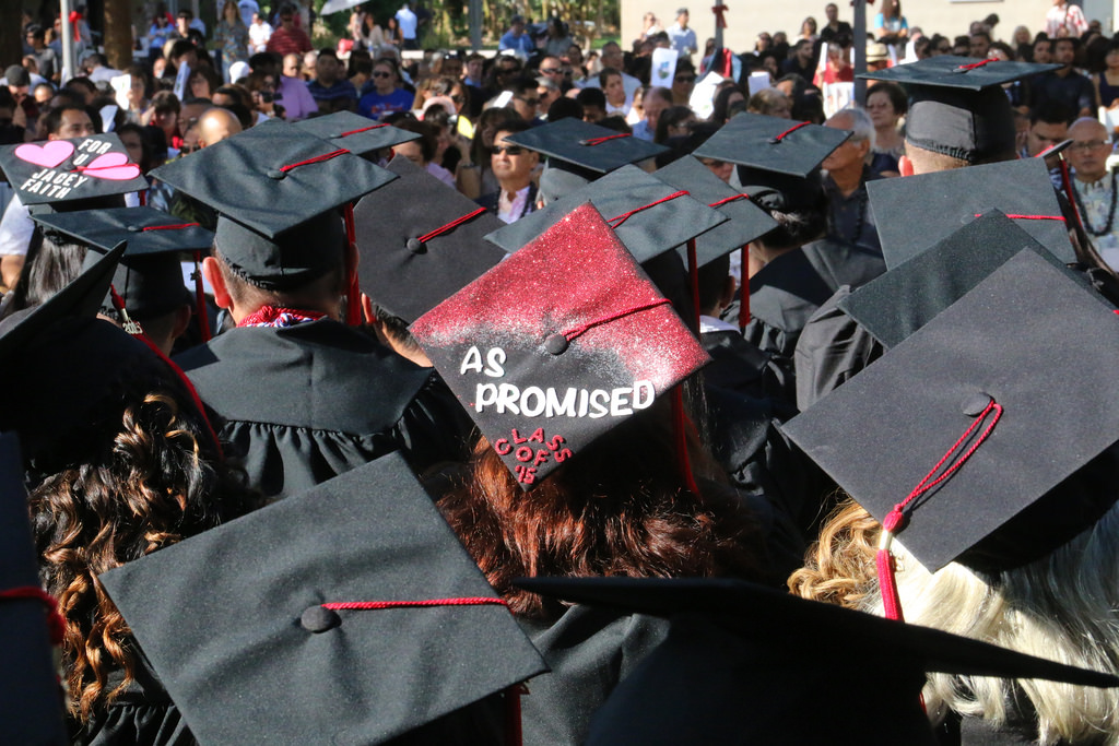 As promised fall 2015 commencement