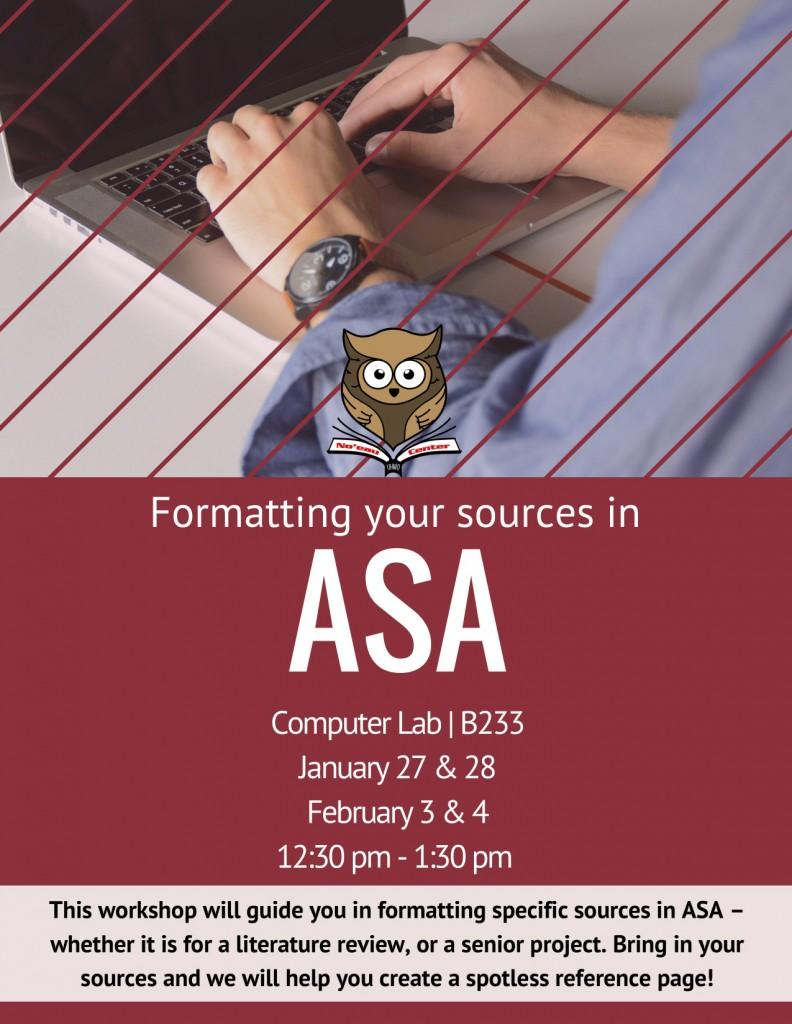ASA Workshop