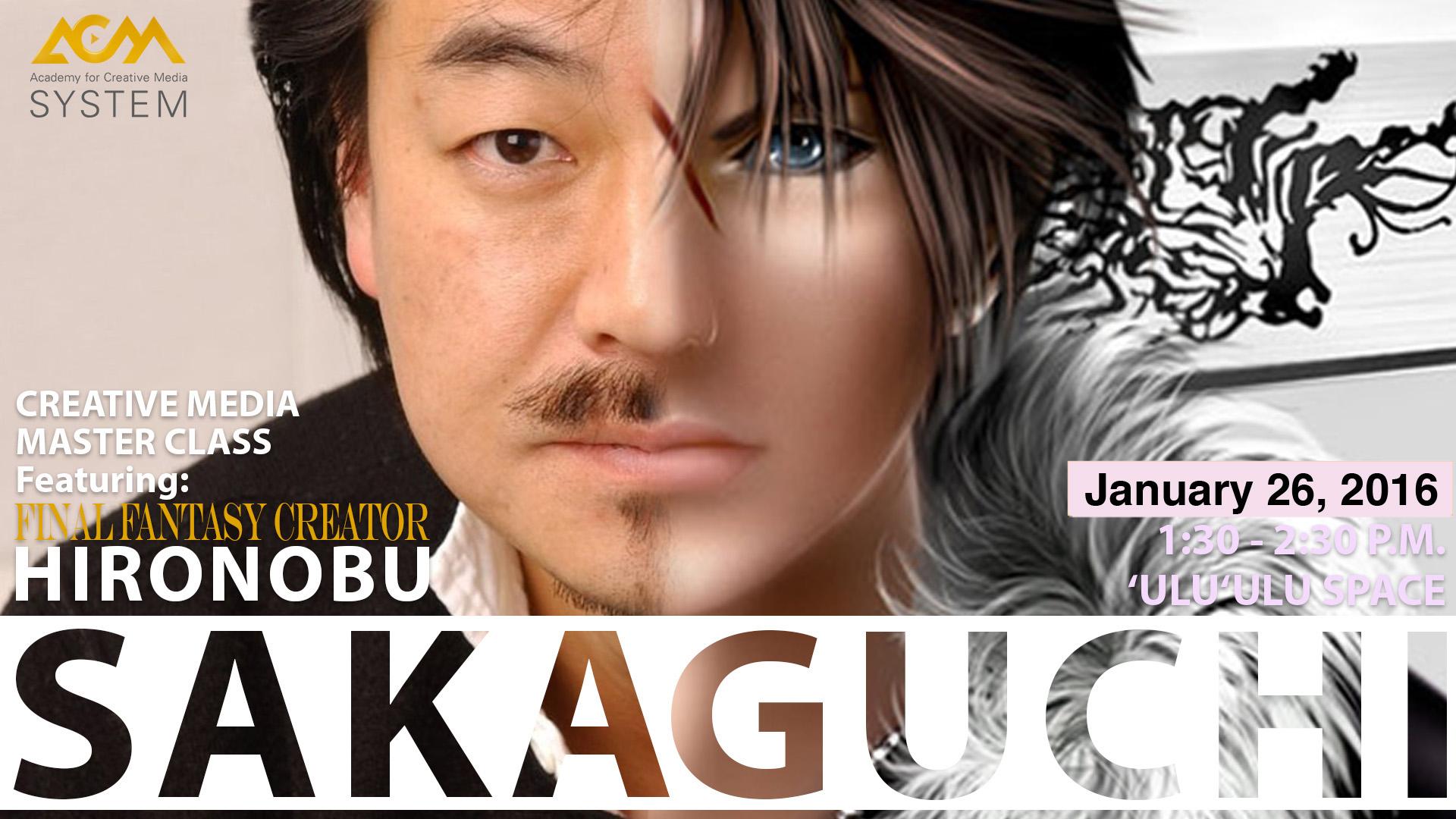 final fantasy flyer hironobu sakaguchi rev