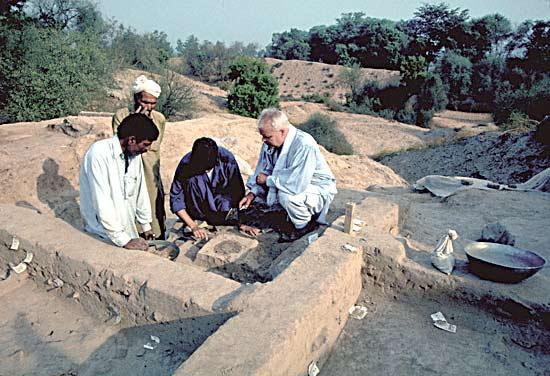 Harappa excavation