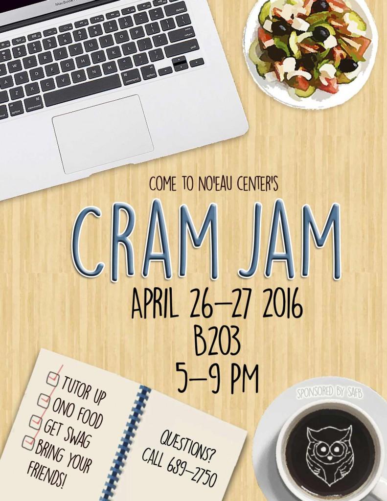 Cram Jam Spring 2016
