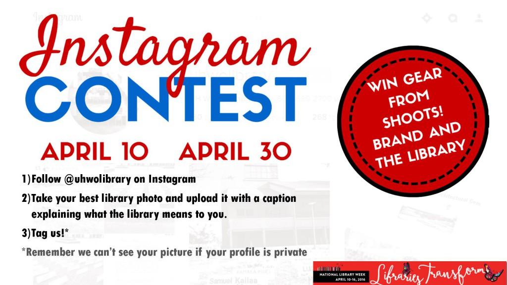 Instagram Contest Digital Signage