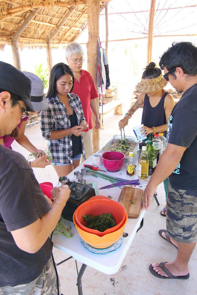 Garden-to-table workshop - soba salad