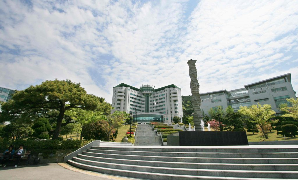 Tongmyong University in Busan, South Korea.