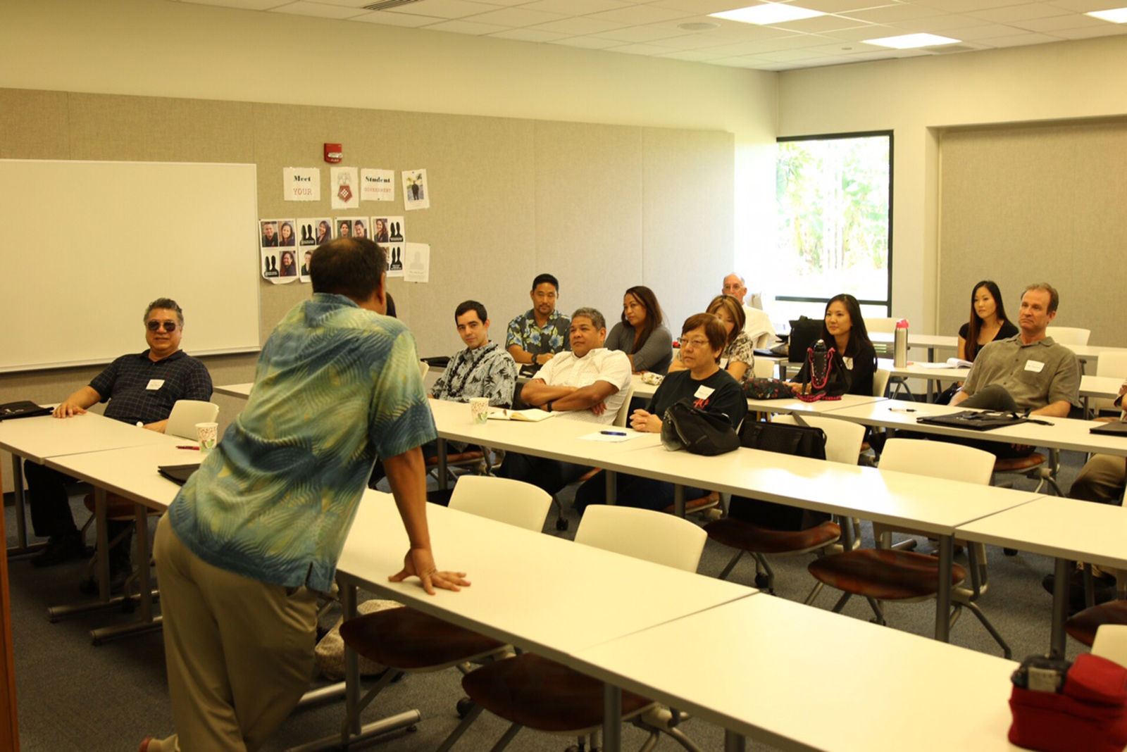 Breakout session during Professional Development day.