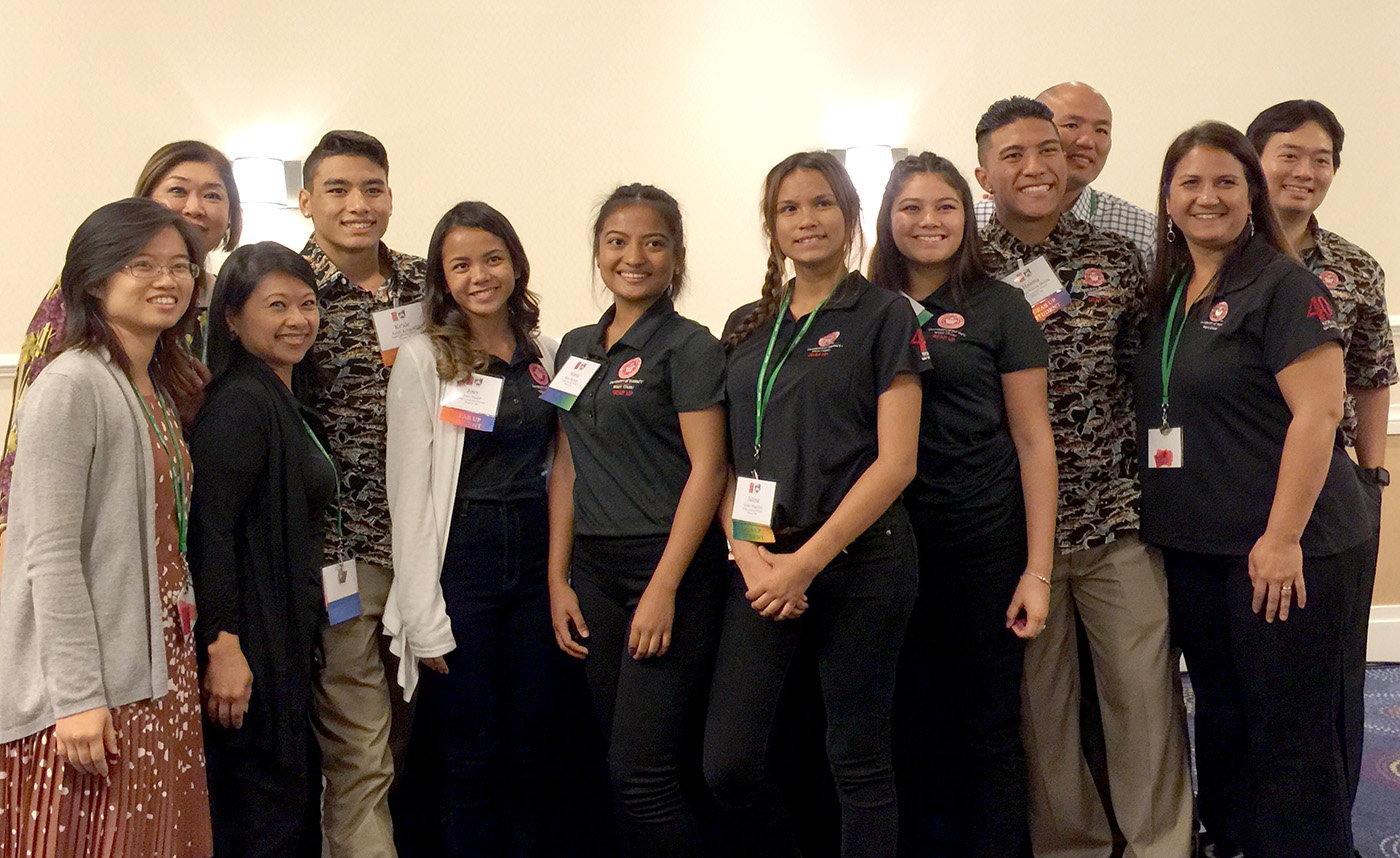 Students and staff from Holomua GEAR UP on the Leeward Coast: 2016 NCCEP Presentation