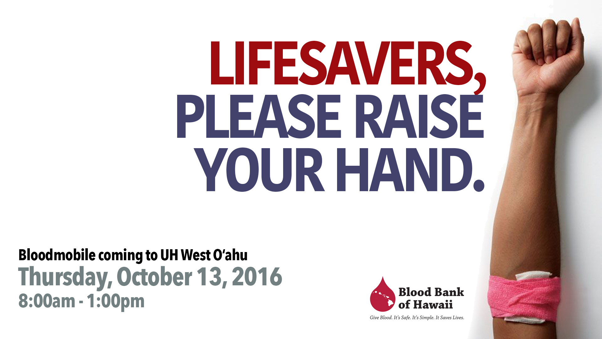 Blood Bank of Hawaii graphic