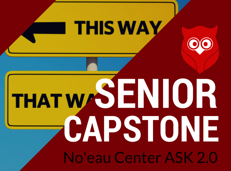 Noʻeau Center Senior Capstone
