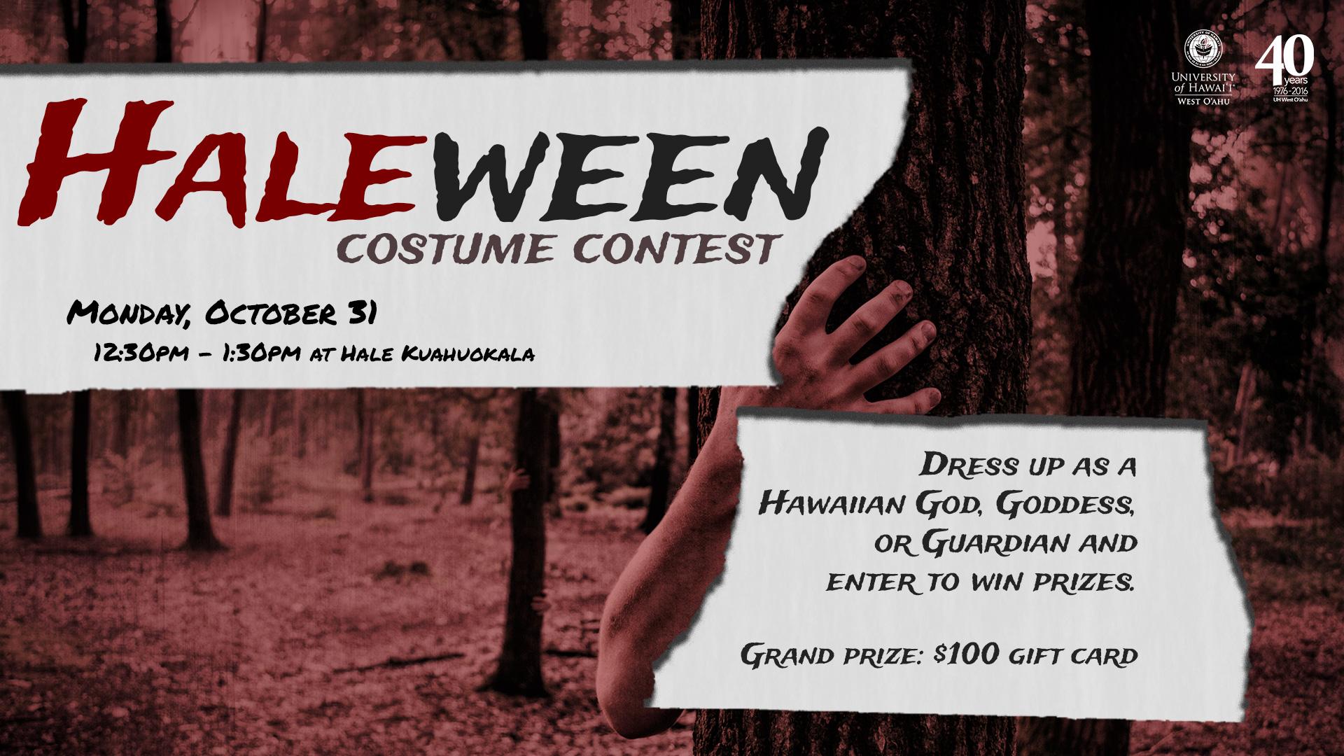 Hale-ween Costume Contest