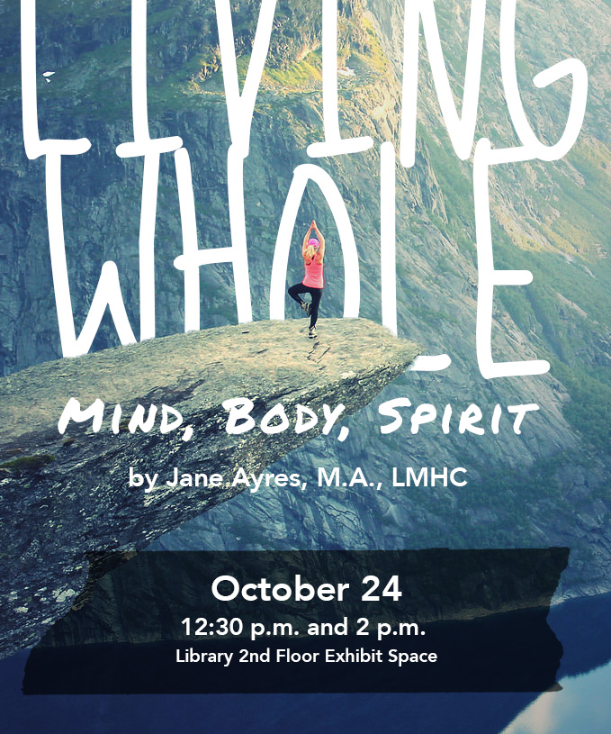 Living Whole: Mind, Body, Spirit event