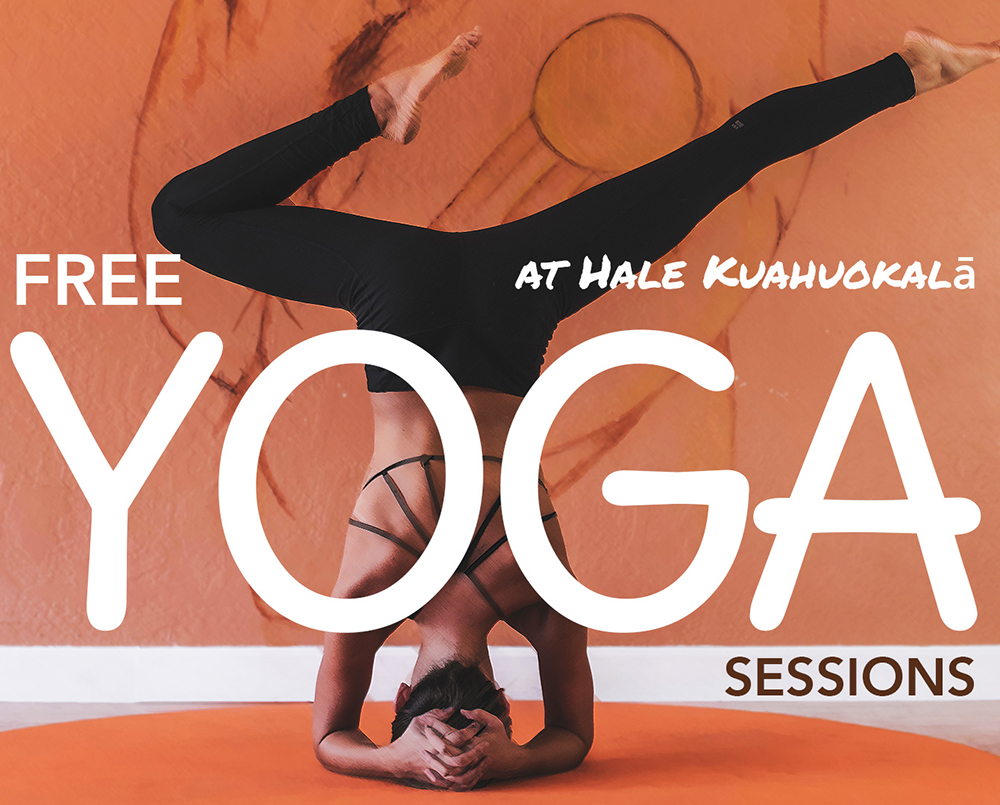 Yoga Sessions at the Hale