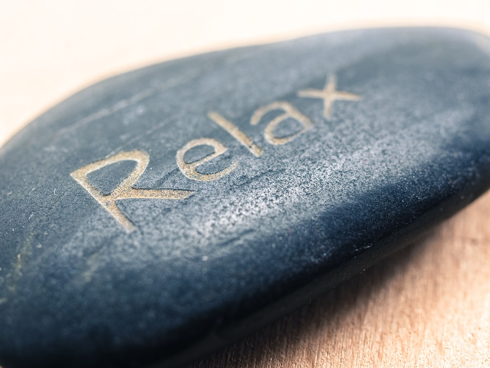 Relax stone image