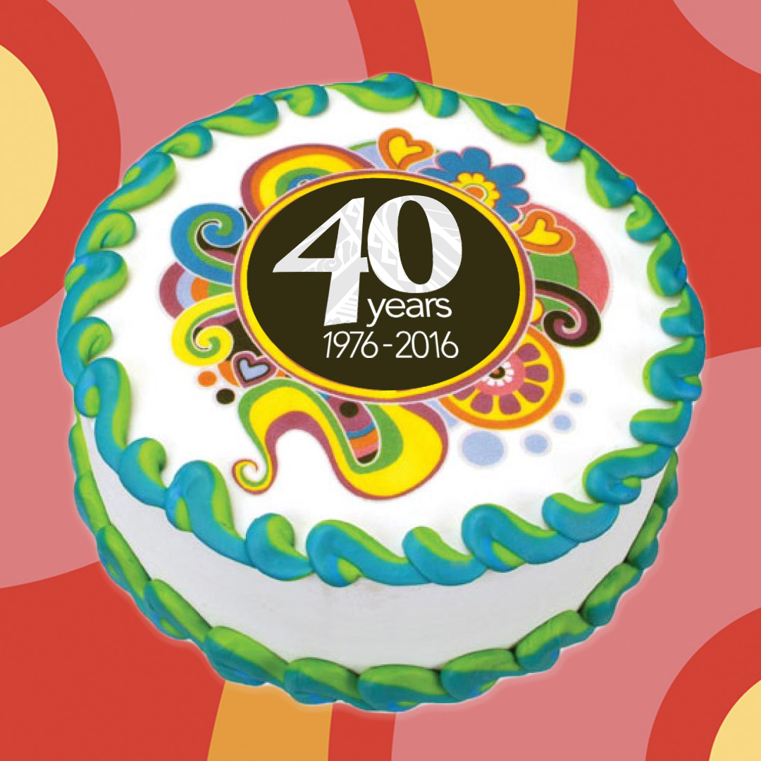 UHWO 40th Birthday Cake