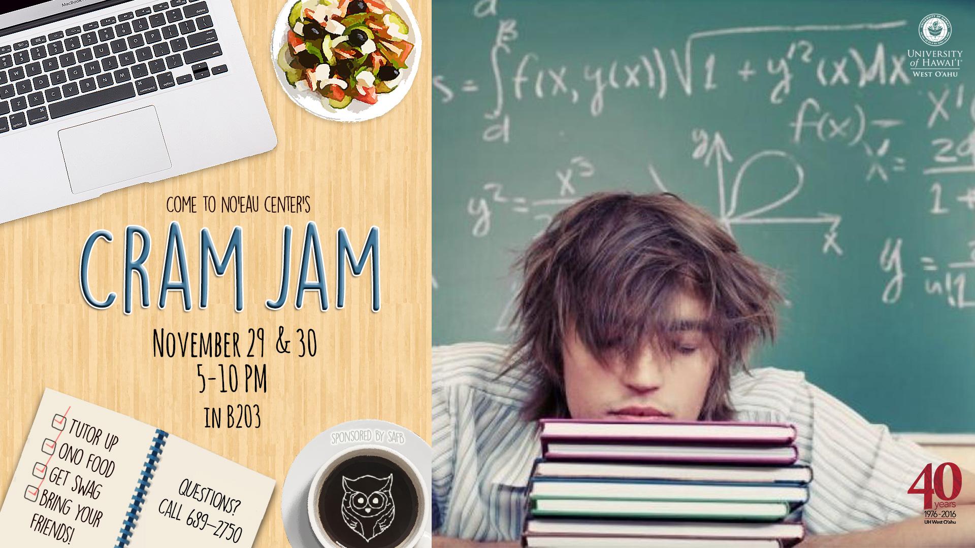 Cram Jam Fall 2016