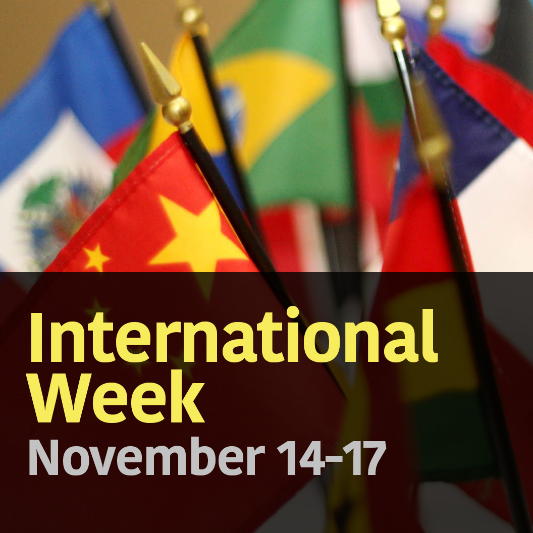 International Week is November 14-17, 2016