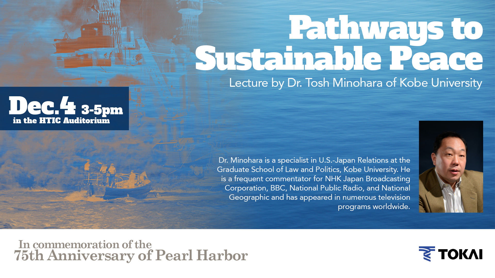 Pathways to Sustainable Peace Symposium, Dec. 4