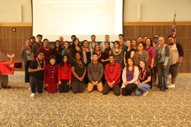Pueo Awards: Recognition Ceremony and Reception, Fall 2016