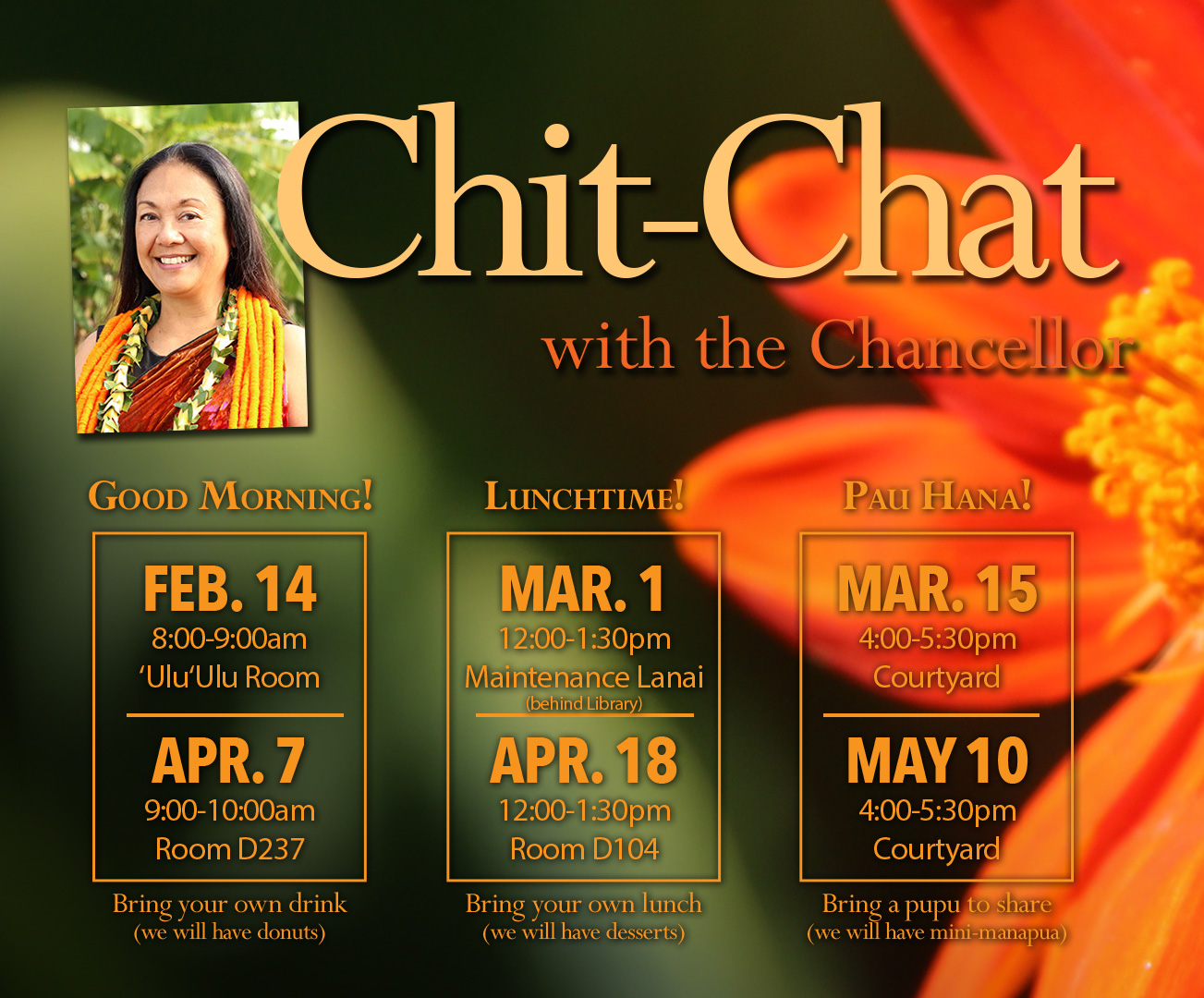 Chit-Chat with Chancellor
