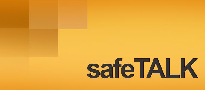 SafeTALK Banner