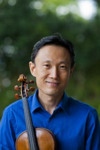 """Hawaii Symphony Orchestra concertmaster, Ignace """"Iggy"""" Jang (pictured) will appear on Thursday, April 6 at 11:00am in the UH West O'ahu Dining Hall, along with HSO bassist, John Gallagher, and Mililani High School's String Ensemble, led by Director Bryan Hirata."""