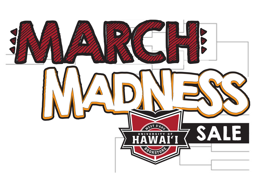 March Madness Bookstore Flyer