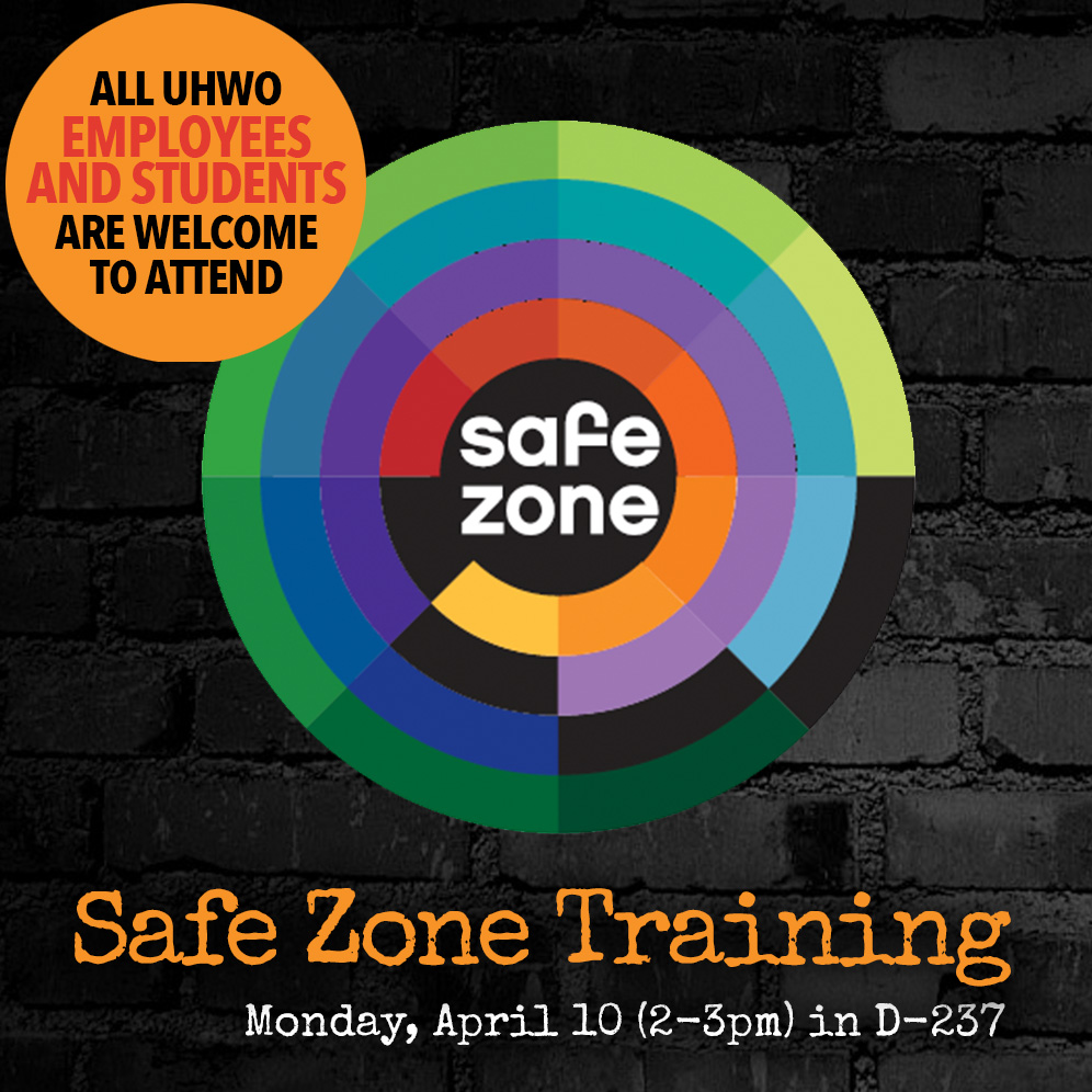 Safe Zone Training Flyer