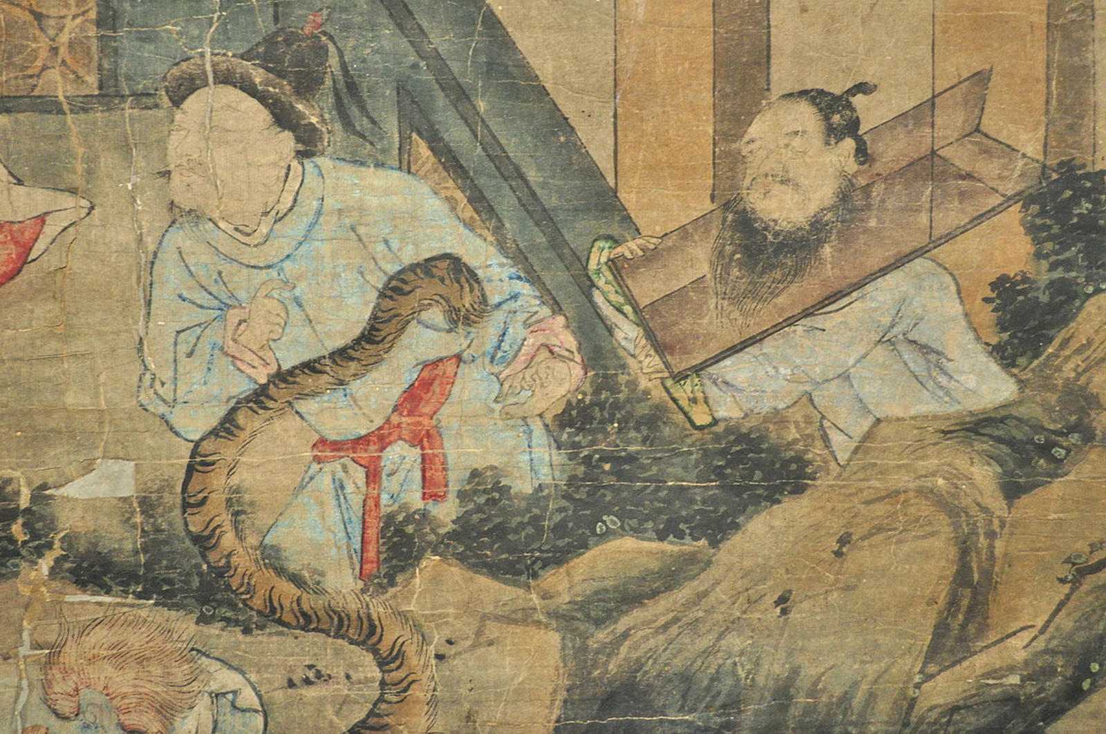 Painting of Buddhist Ten Judgements of Hell