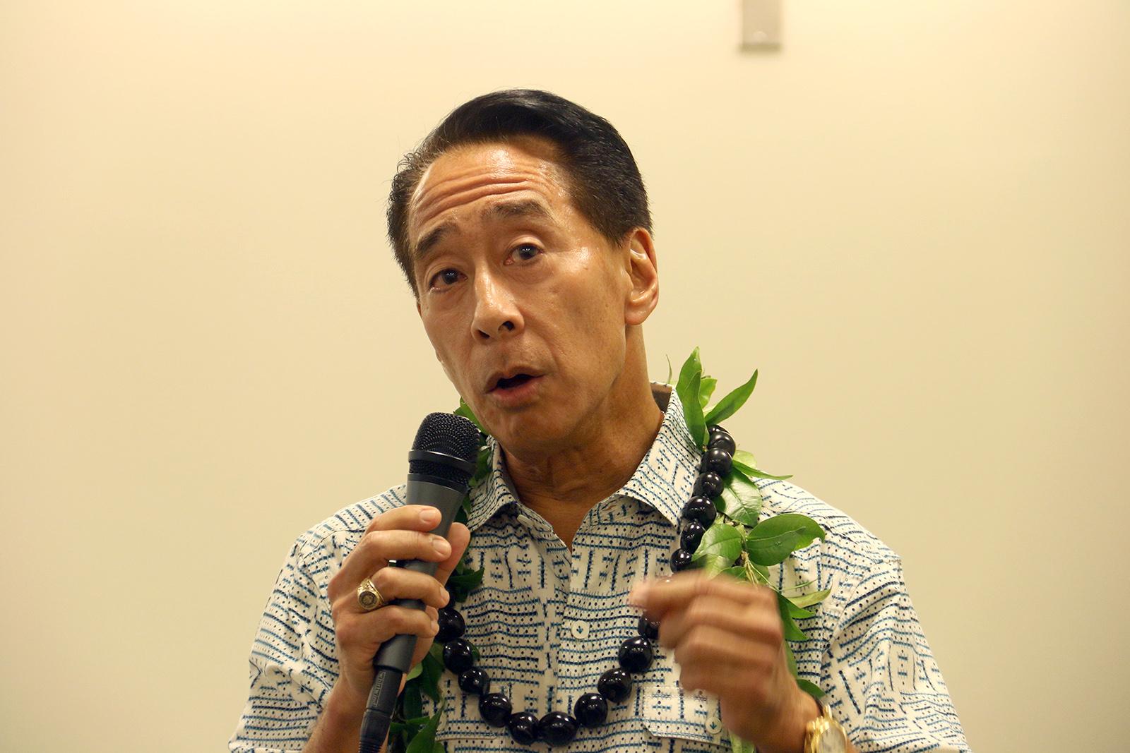 Dr. Franklin Kudo Accounting professor at UH West O'ahu