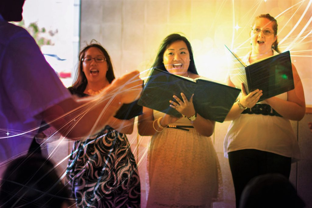 UHWO University Chorus in Spring 2014.