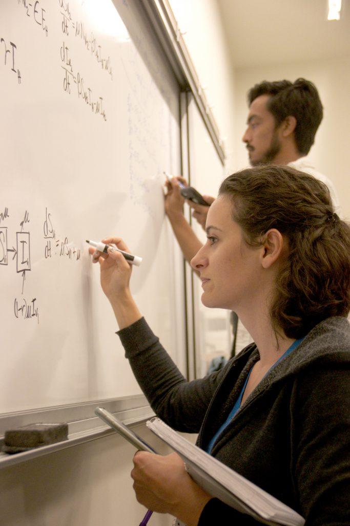 Morgan Dutkoski and Alexander Bautista are participants in the Kikaha Undergraduate Research Program