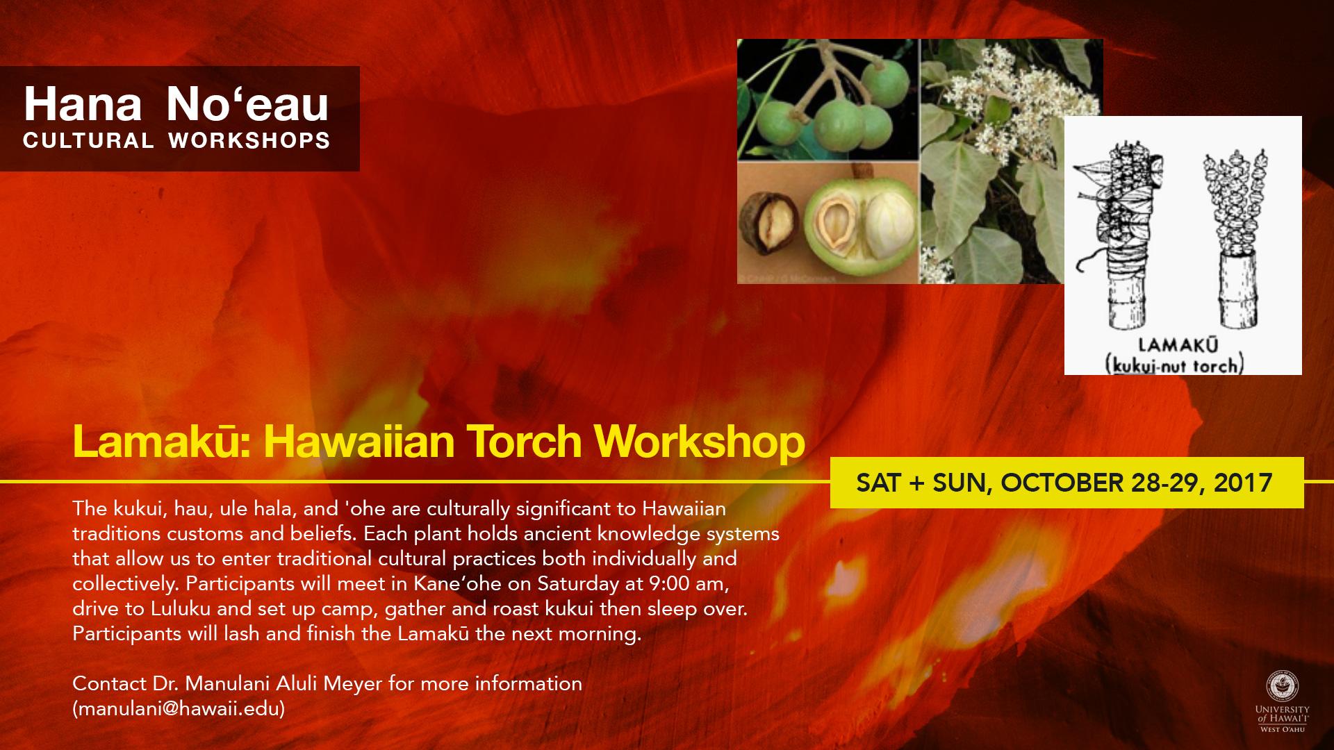 Hana Noeau Workshop Series