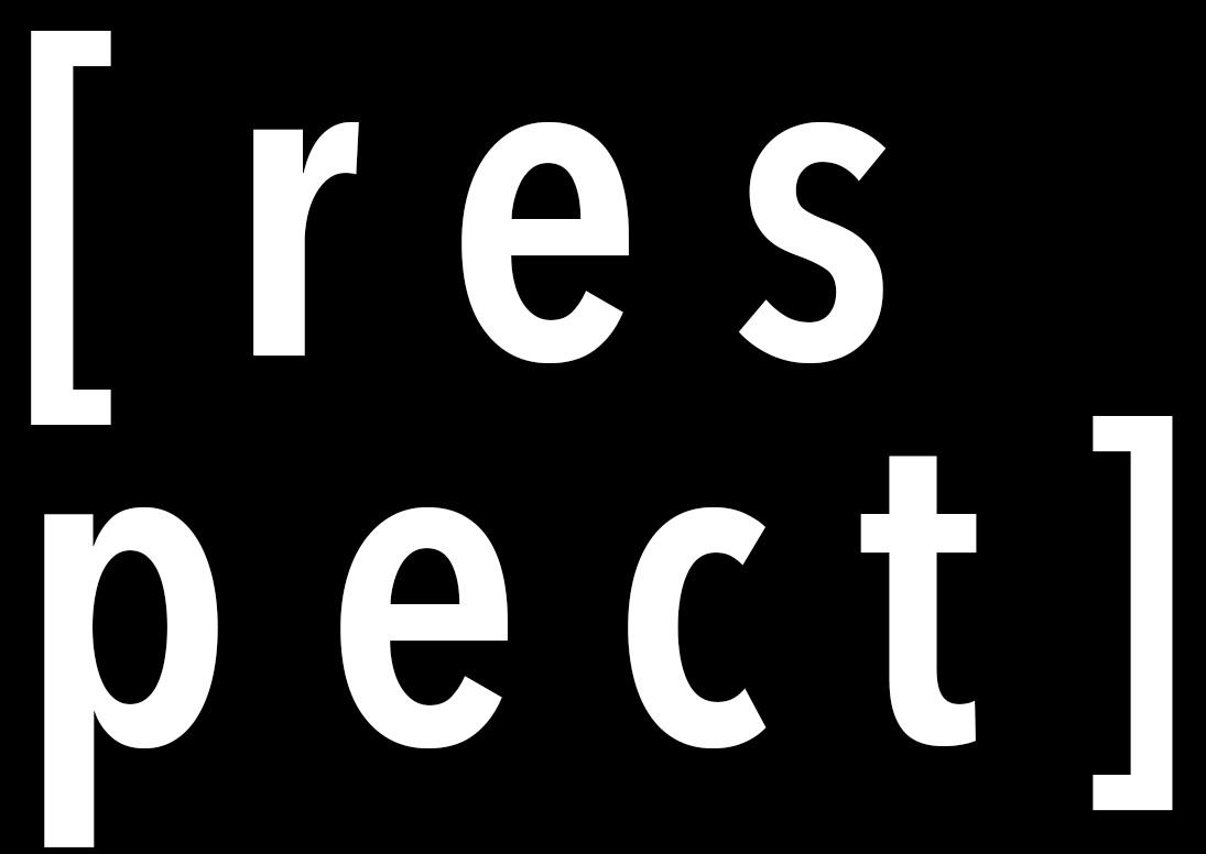 Respect Campaign graphic