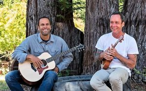 Photo of Musician Jack Johnson and Family Ingredients Host Ed Kenney